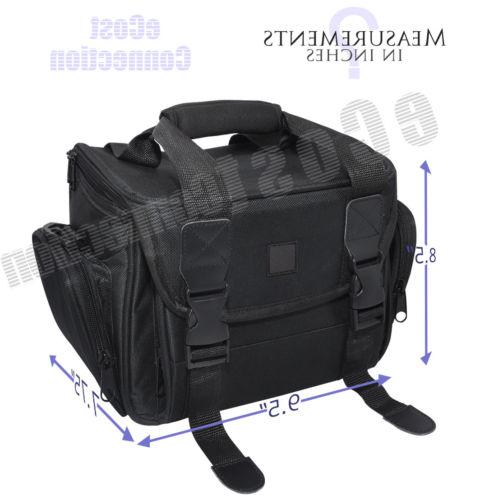 Deluxe Camera Padded Carrying for Cameras/Camcorders