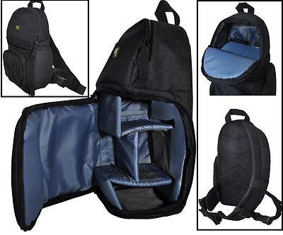 Deluxe Sling Style Shoulder Camera Bag Case For Canon EOS M6
