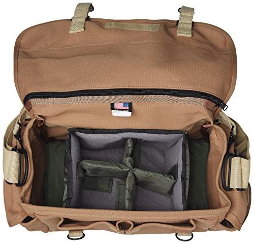 Domke bag 700-02S Canon, Nikon, & Olympus DSLR or Mirrorless for multiple lenses up to and accessories