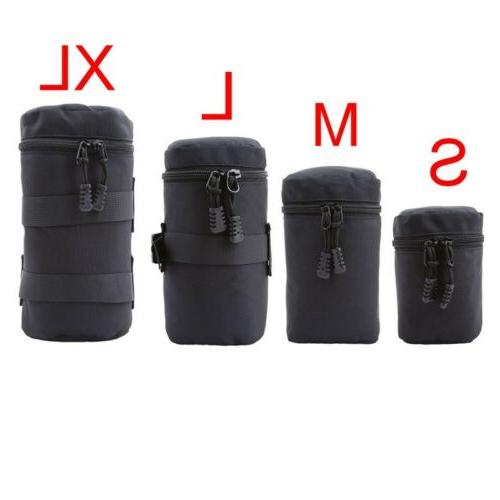 dslr camera lens pouch soft protector carry