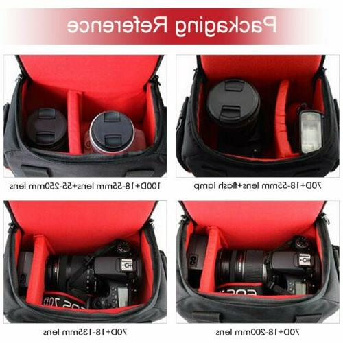 DSLR Backpack Case for Canon Sony DSLR Mirrorless