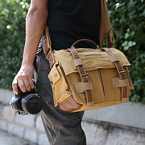 ESDDI Bag, DSLR with Removable Canon Daily Khaki