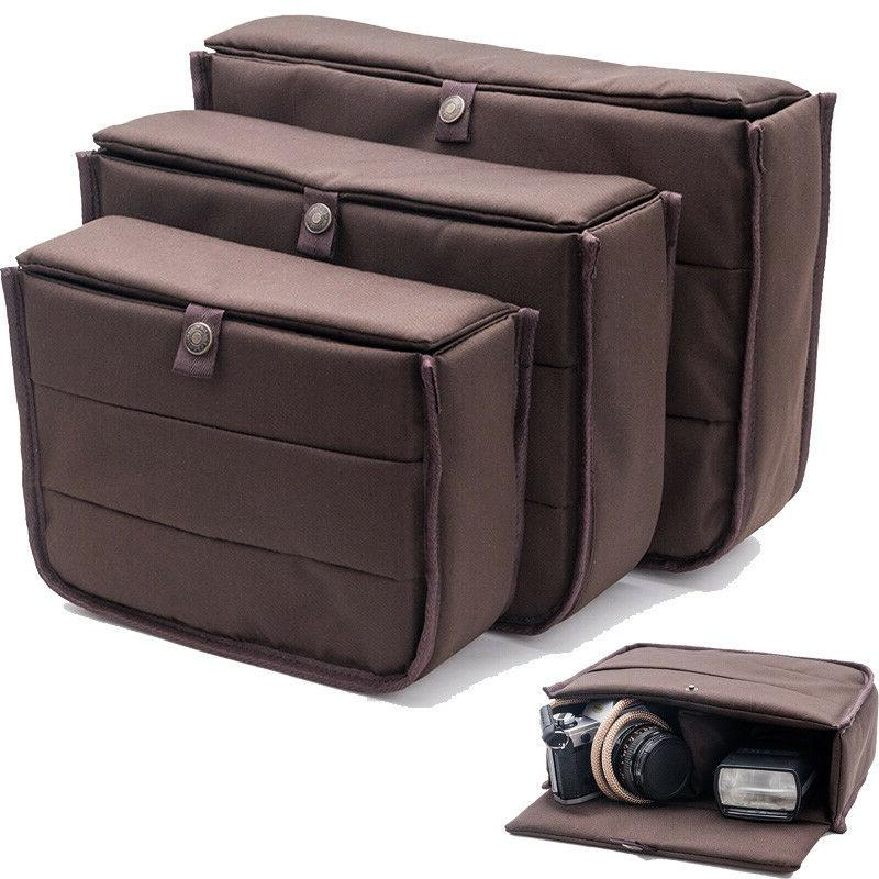 dslr slr camera bag padded insert partition