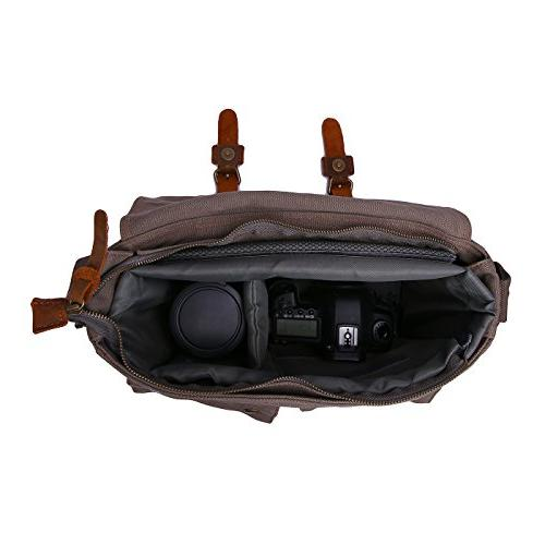 DSLR Insert Bag Padded Water Shockproof Case for Bags Compatible with Canon and
