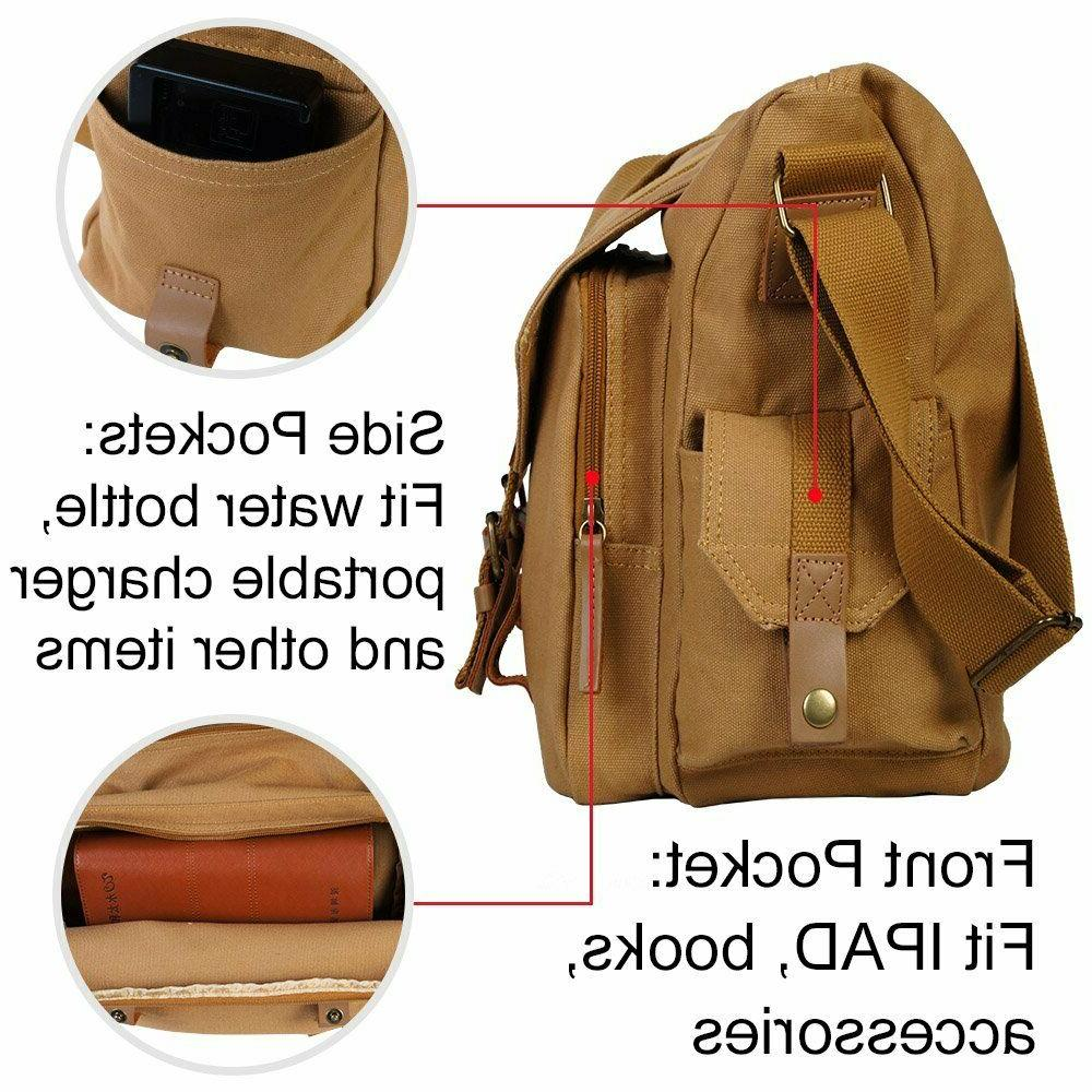 Durable Canvas Shockproof Messenger Canon