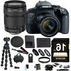 Canon EOS Rebel T7i DSLR Camera w/18-135mm lens + Filter kit