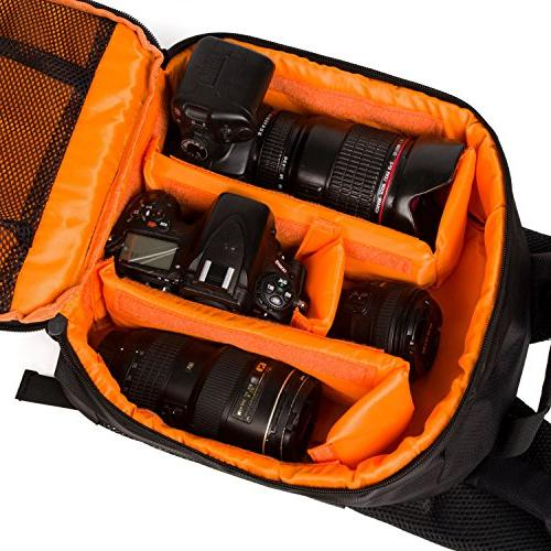 G-raphy Camera Bag Camera Backpack for DSLR Lens, Tripod