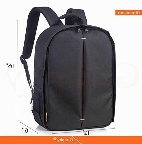 Backpack Rain Cover for DSLR Cameras , Lens, Tripod Accessories