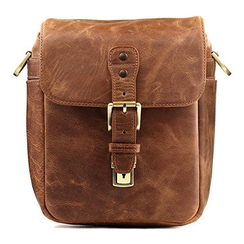 Megagear Messenger Bag for Instant and Brown