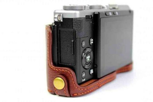 BolinUS Leather Camera Case Bag for...
