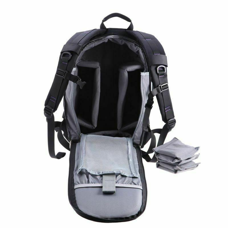 Large Camera Backpack with Waterproof Cover for Canon Nikon Concept
