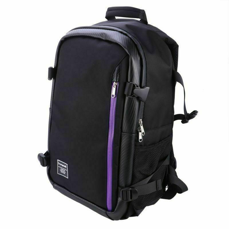 large camera backpack bag with waterproof cover
