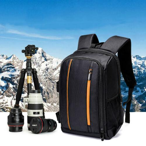 Large Camera Backpack Bag Padded