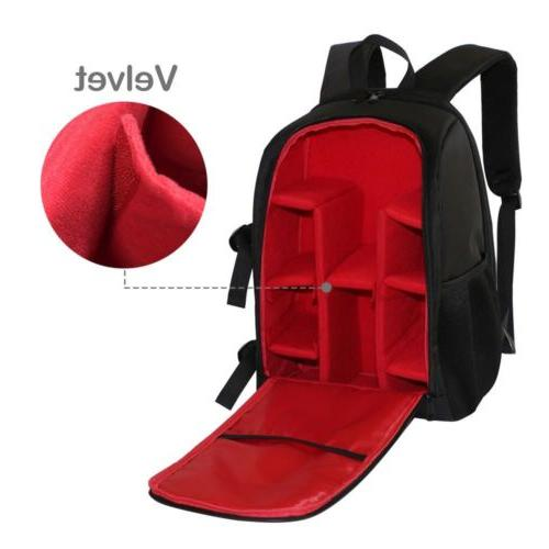 Large DSLR Case Backpack Bag DIY For