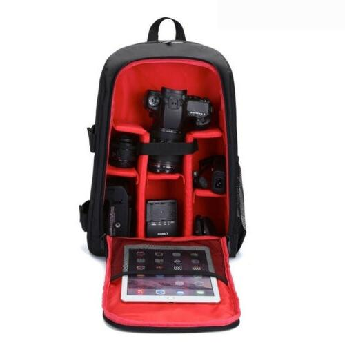 Waterproof Shockproof Camera Backpack Bag For Canon