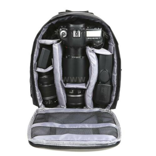 Large DSLR Outdoor Camera Backpack Bag