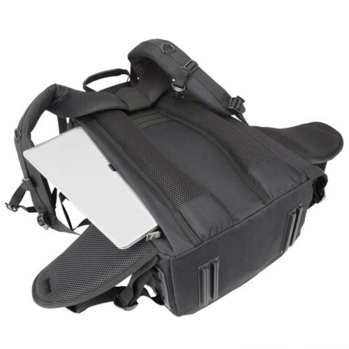 Extra Large Camera/Lens/Laptop Backpack Case w/ Cover