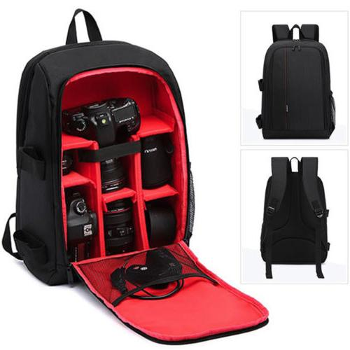 Large Storage Waterproof Backpack Notebook Bag for