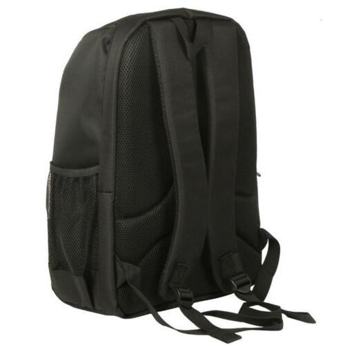 Large Storage DSLR Waterproof Nylon Camera Notebook Bag for