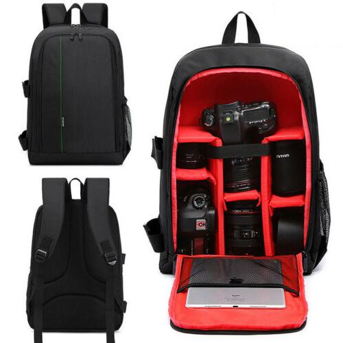 large storage dslr bag waterproof nylon camera
