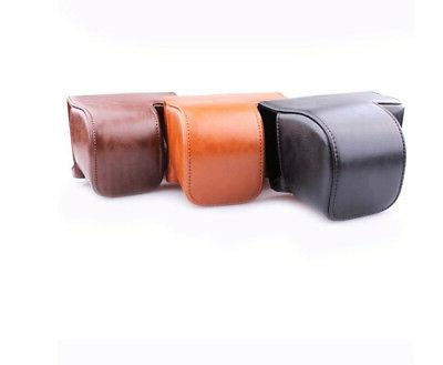 Leather Bag Cover A6000 A6300 Strap USA Sto