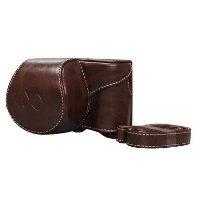 Leather Camera Cover Pouch A6000 A6300