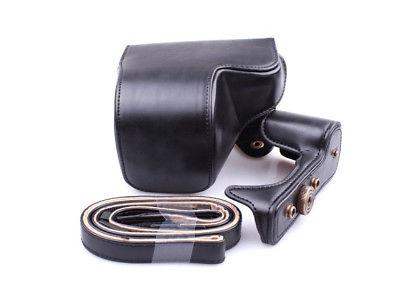 Leather Cover For Sony A6000 A6300 NEX6 Camera