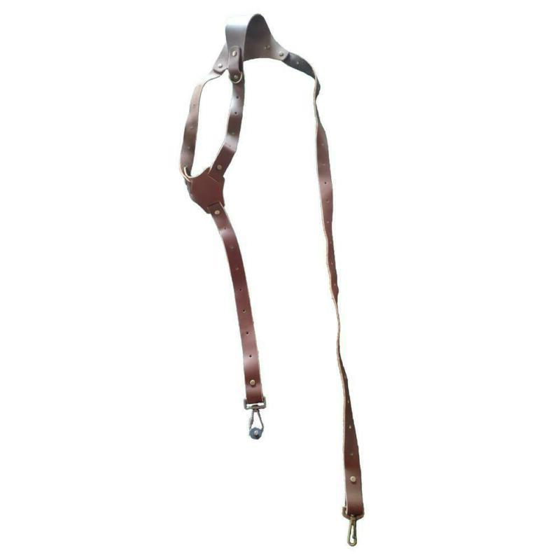 Leather Dual Harness Brown Shoulder