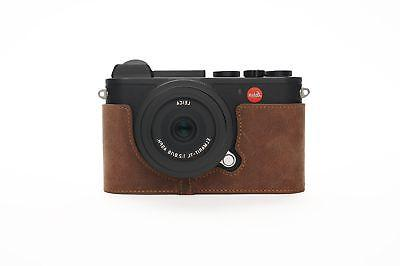 leica cl case handmade genuine real leather