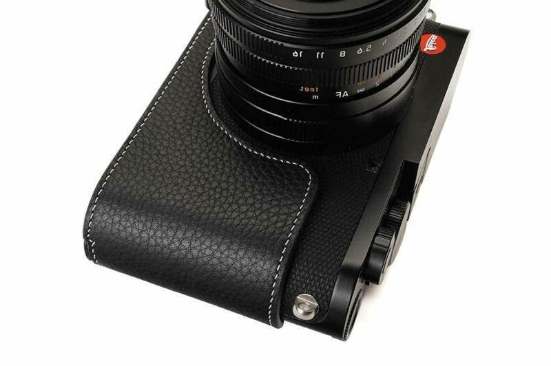 Leica Q2 Camera Bolinus Real Leather Half Bag