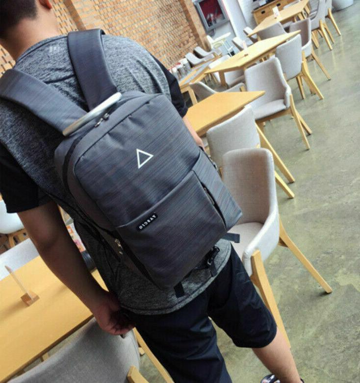 Men's Camera Backpack School Bag & USB Port