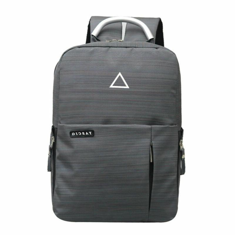 "Men's Camera Bag 15"" Backpack School Bag & USB Port"