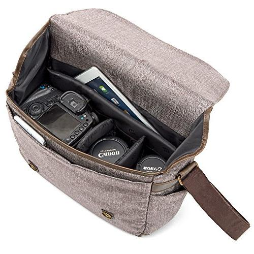 Messenger DSLR Evecase Life Case with Compartment Mirrorless, Micro