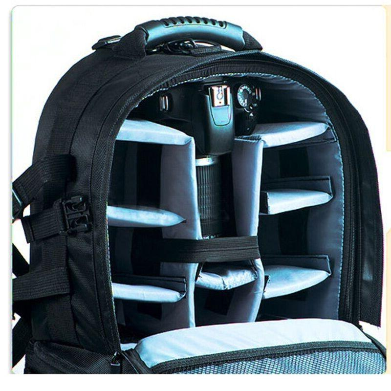 Multifunctional Black Backpack Case Canon