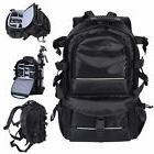 Multifunctional Deluxe Camera Backpack Bag Case Sony Canon N