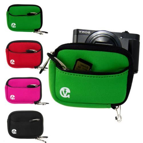 neoprene mini sleeve digital slr camera pouch