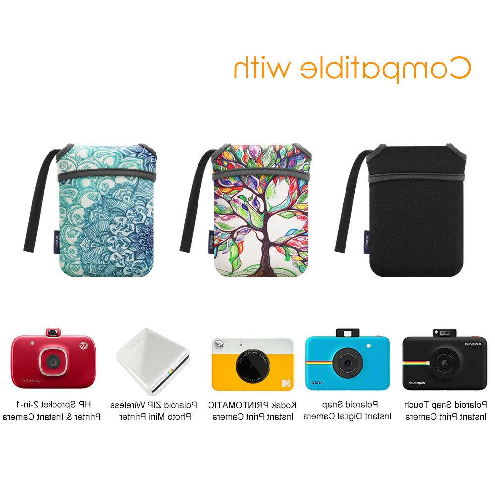Neoprene Soft Pouch Carry Bag for Touch/Polaroid Zip Printer