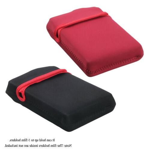 NEW 2x Sheet Film Holder Protection Pouch For Large