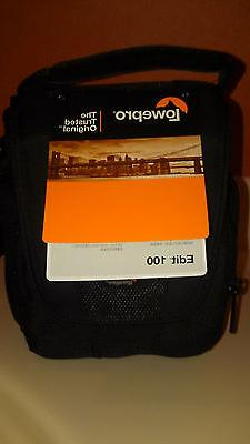 Lowepro Padded Camera Bag Edit 100, Small, Compact, NWT