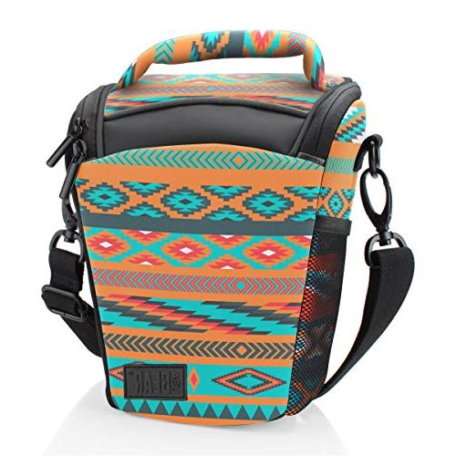 Portable Camera Bag Loading Accesibility Shoulder Sling by USA