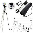 Professional Camera Tripod Stand Holder with Ball Head +Bag