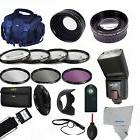 Professional Flash / Lens / Accessory Kit for SONY ALPHA A50