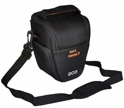 Protective Camera Case Bag +strap for Canon Powershot SX420