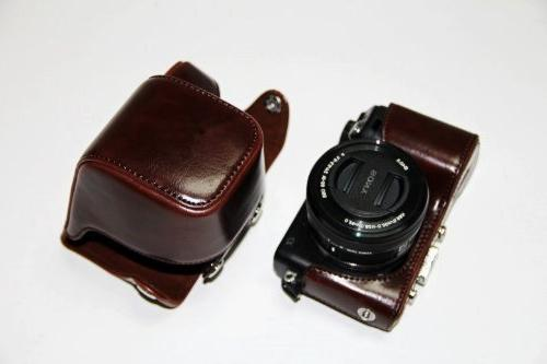 Dengpin Protective Leather Case with Shoulder Electric Lens