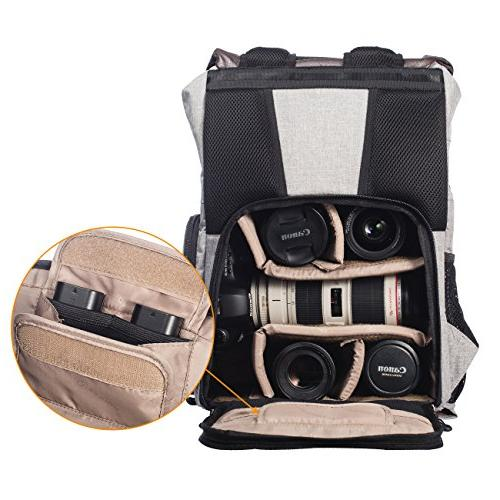 TARION with Waterproof Rain Cover and for SLR/DSLR/Mirrorless