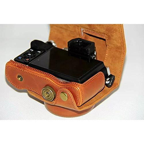 Dengpin Leather Camera Case for E-M10 Mark2 with