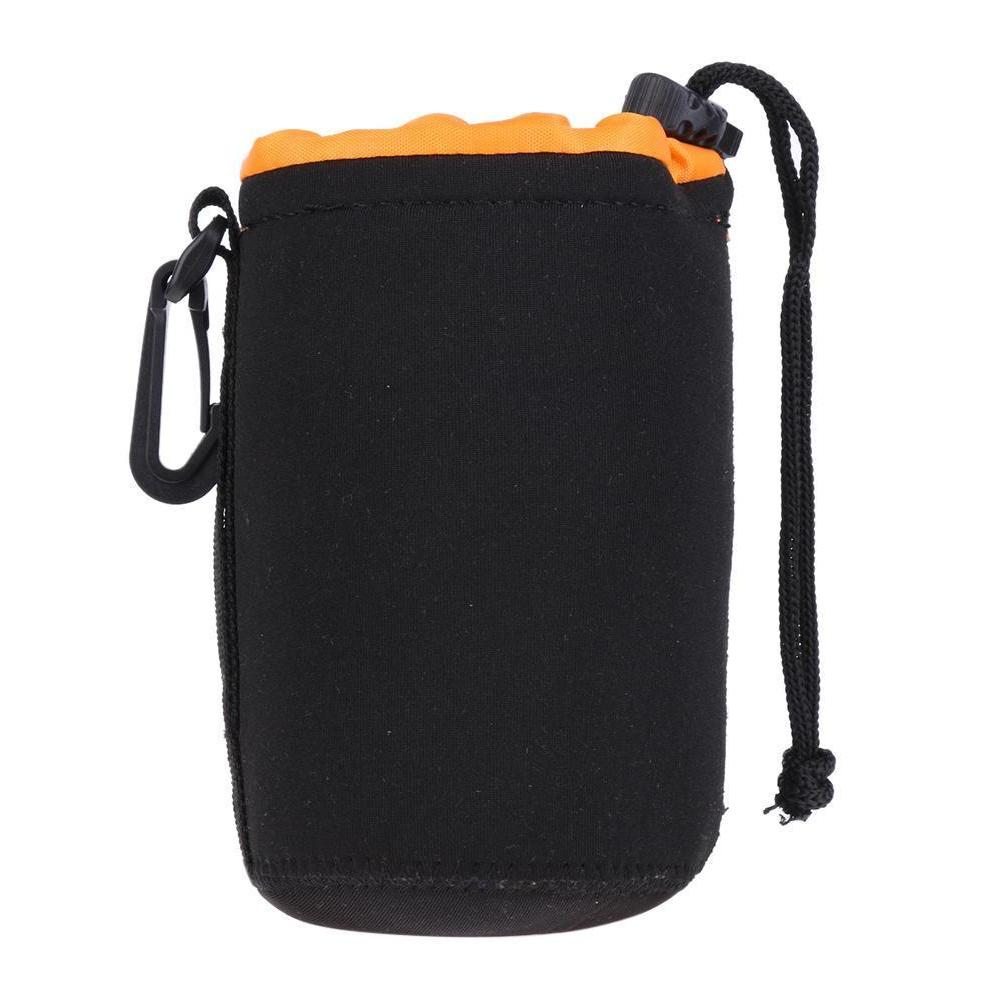 S-XL Neoprene Camera Lens Drawstring Case