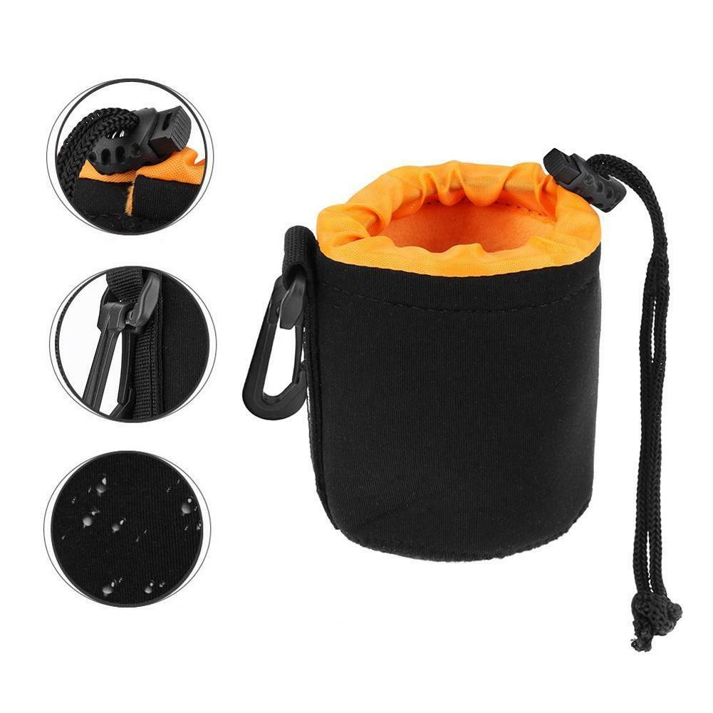 S-XL Waterproof Camera Pouch Drawstring Protector