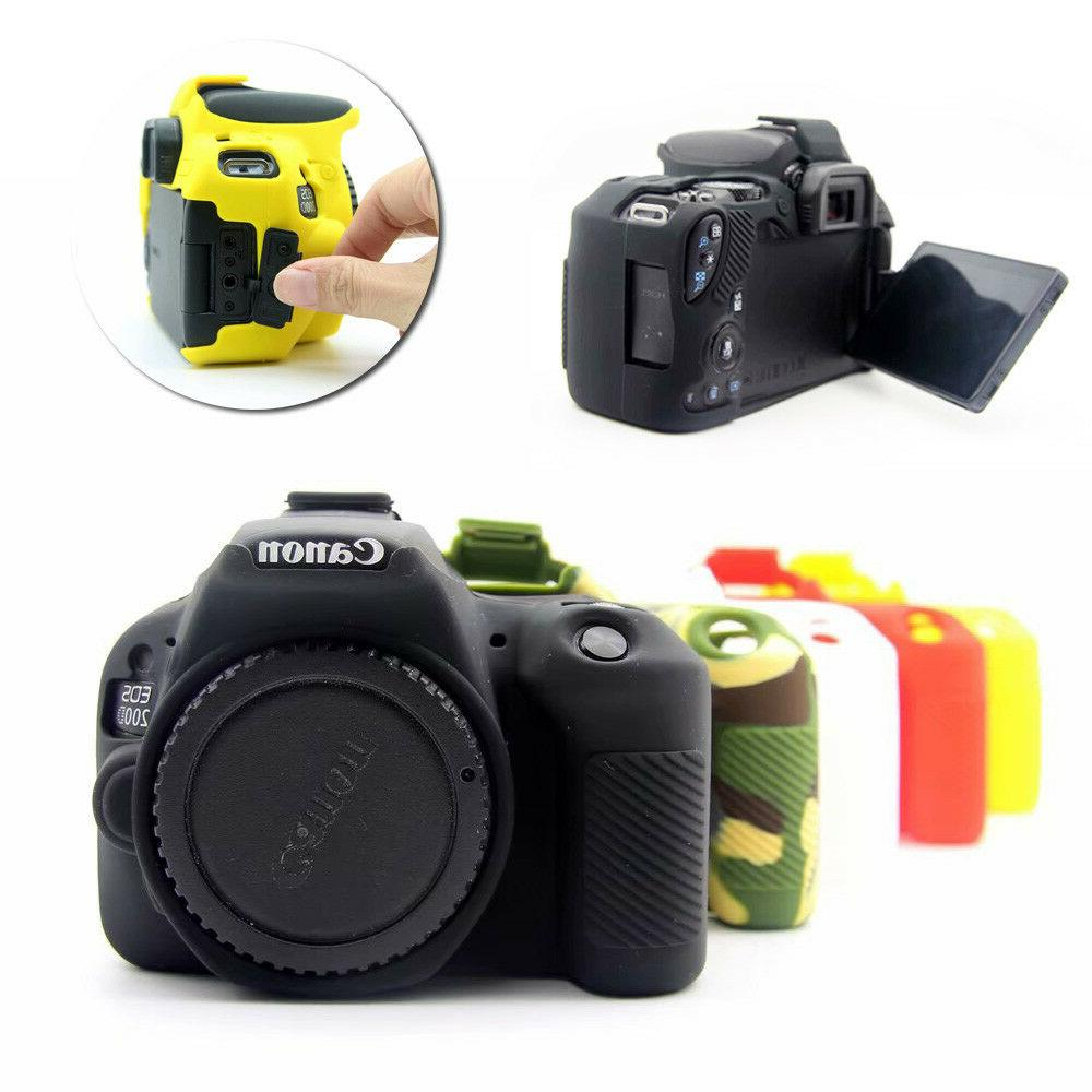 silicone protective camera cover case bag