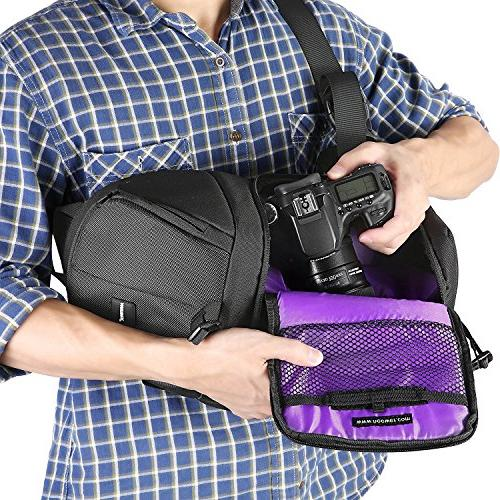 Neewer Storage Bag Durable Waterproof and Tear Carrying Case DSLR & Accessories